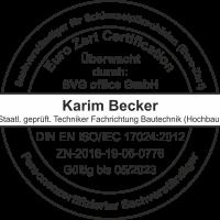 2. Stempel Karim Becker Schimmelschaeden